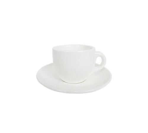 아망떼 화이트 에스프레소 커피잔 100ml