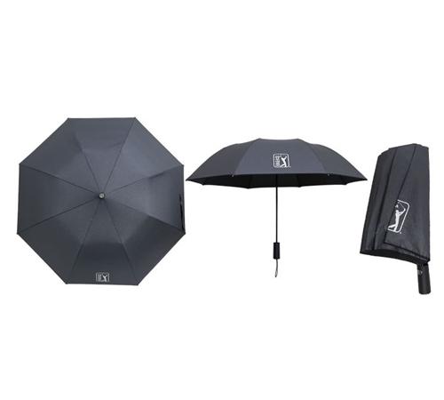 PGA 블랙메탈 2단우산(자동)