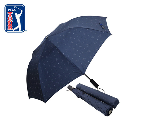 PGA 네이비 전폭로고 2단우산(자동)