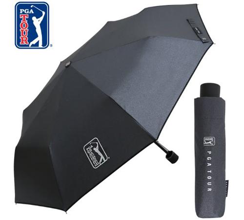PGA 블랙메탈 3단우산(수동)
