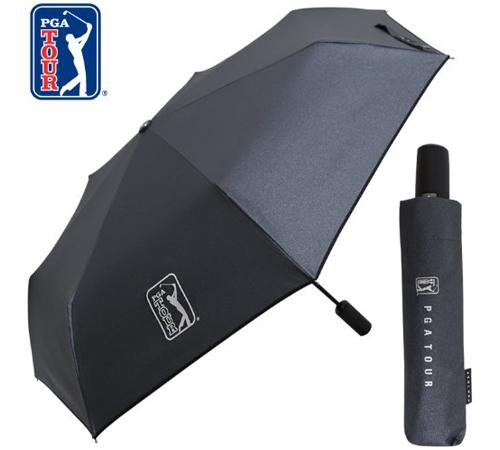 PGA 블랙메탈 3단우산(완전자동)