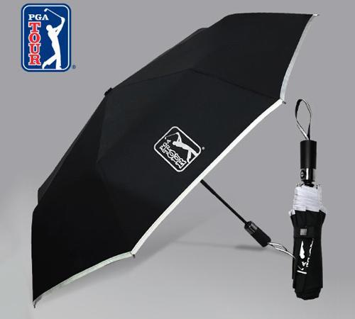 PGA 리플렉티브 안전 3단우산(완전자동)