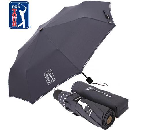 PGA 로고바이어스 3단우산(수동)