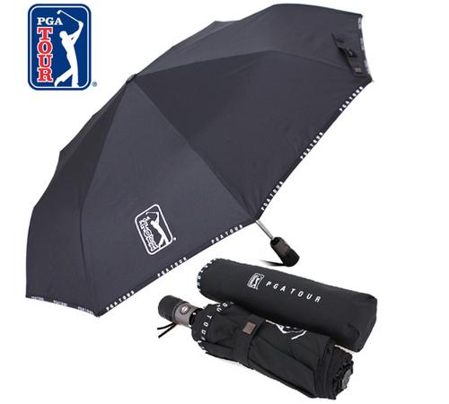 PGA 로고바이어스 3단우산(완전자동)