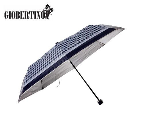 지오베르티노 체크실버 3단우산(수동)