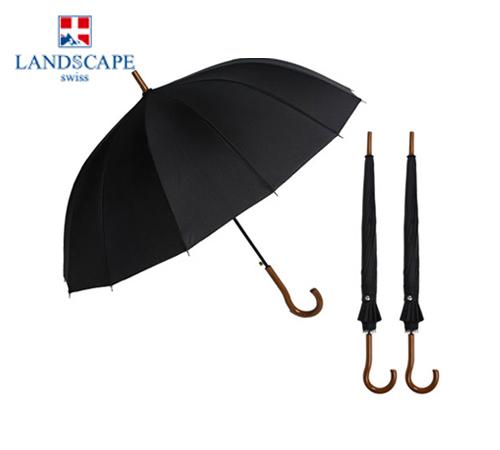 랜드스케이프 곡자손잡이단색 55 장우산(자동)