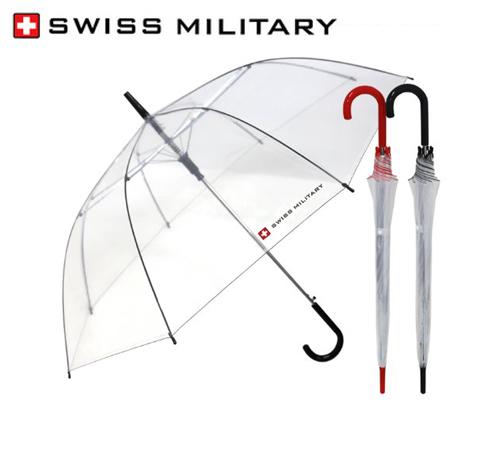 스위스밀리터리 비닐 60 장우산(자동)