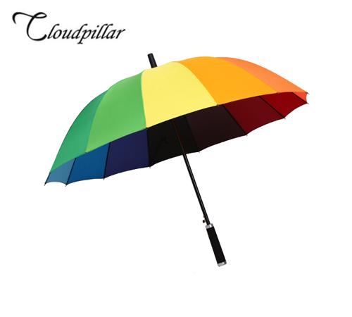 클라우드필라 무지개 60 장우산(자동)