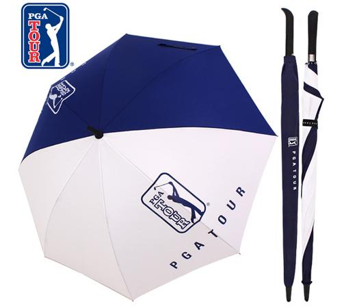 PGA 화이트&네이비 70 장우산(자동)