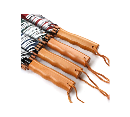 실버 나무손잡이 70 장우산(자동)